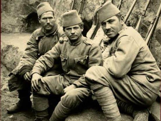 Солдати австрійської армії з Боснії та Герцоговини