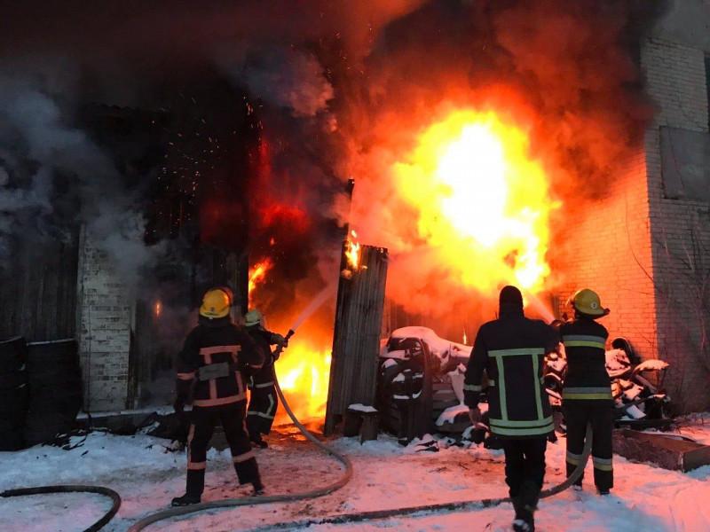 пожежа на Ранковій
