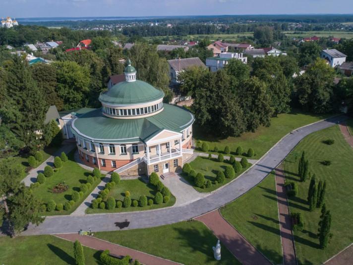 Наукова бібліотека на території Острозької академії