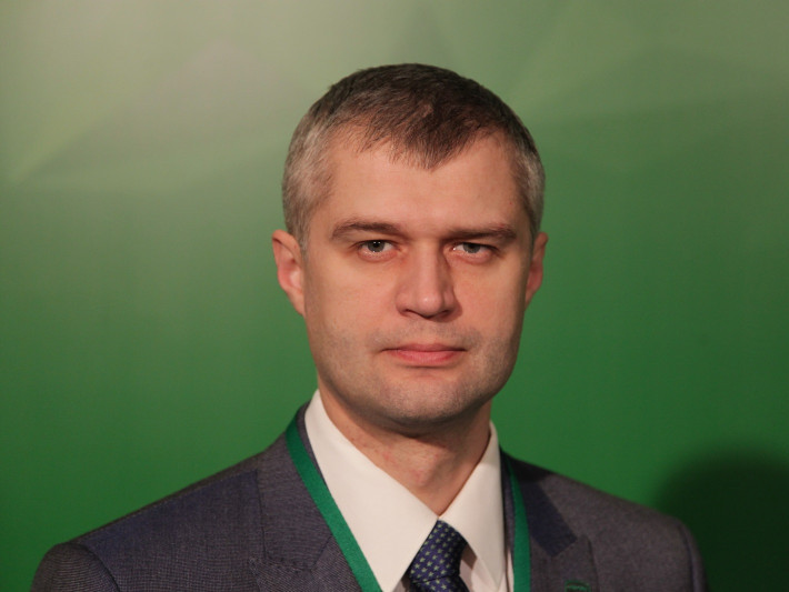 Голова Волинського осередку УКРОПу Вячеслав Рубльов