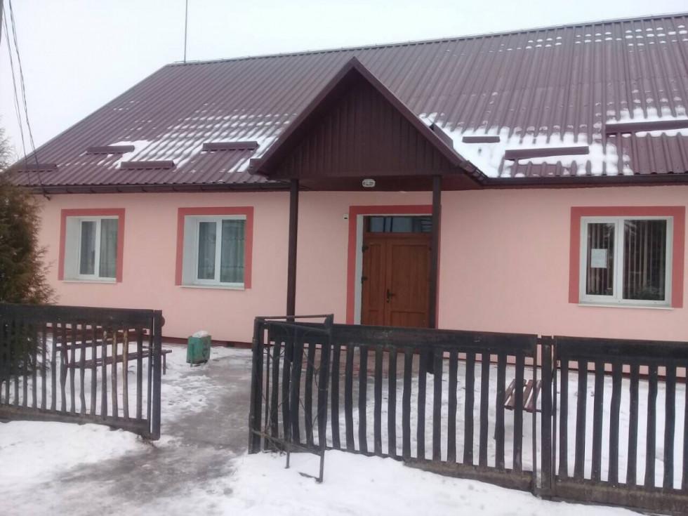 З державного бюджету капітально відремонтували сільський будинок культури в селі Вишнів.