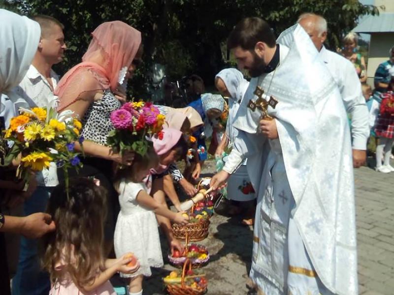 Перше свято Спаса з отцем Миколою Сливою у Кутрові