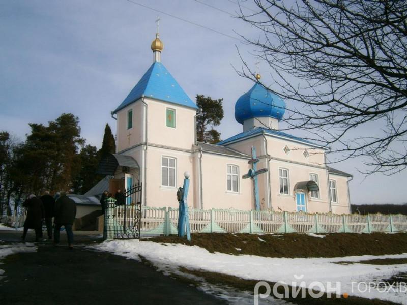 Церква у селі Зелене