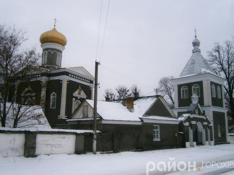 Церква у селі Піски