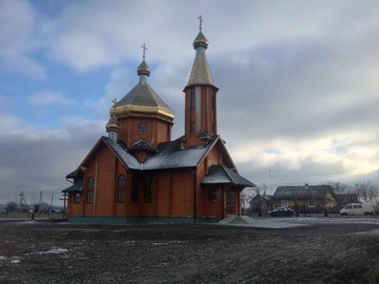 Церква у Галичанах