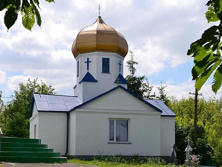 Дзвіниця Миколаївської церкви у селі Мишів