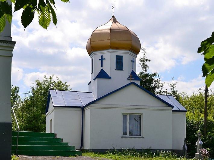 Дзвіниця у селі Мишів