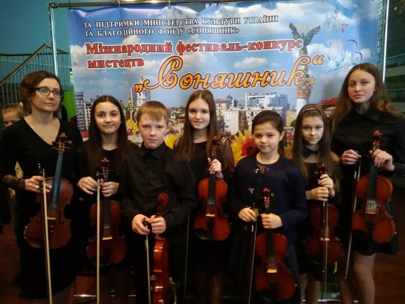 Маневичани взяли участь в Міжнародному фестивалі-конкурсі мистецтв «Соняшник»