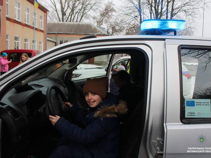 У ліцей на Горохівщині завітали патрульні