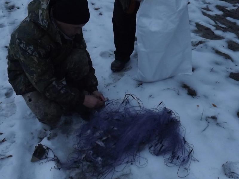 На Ратнівщині затримали порушників риболовлі