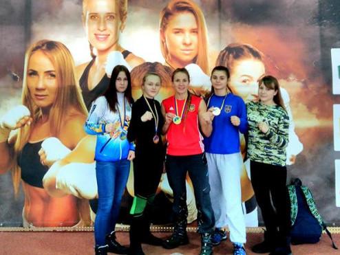 Волинські боксерки привезли «срібло» з Чемпіонату України