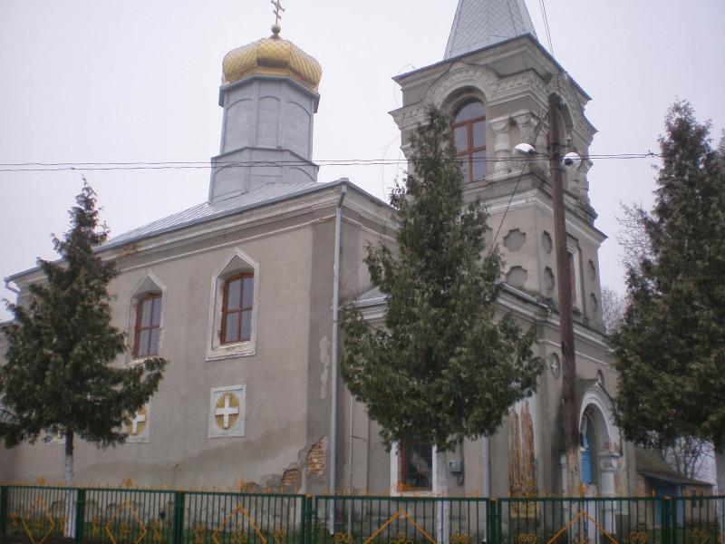 Свято-Воздвиженська церква в селі Коршів