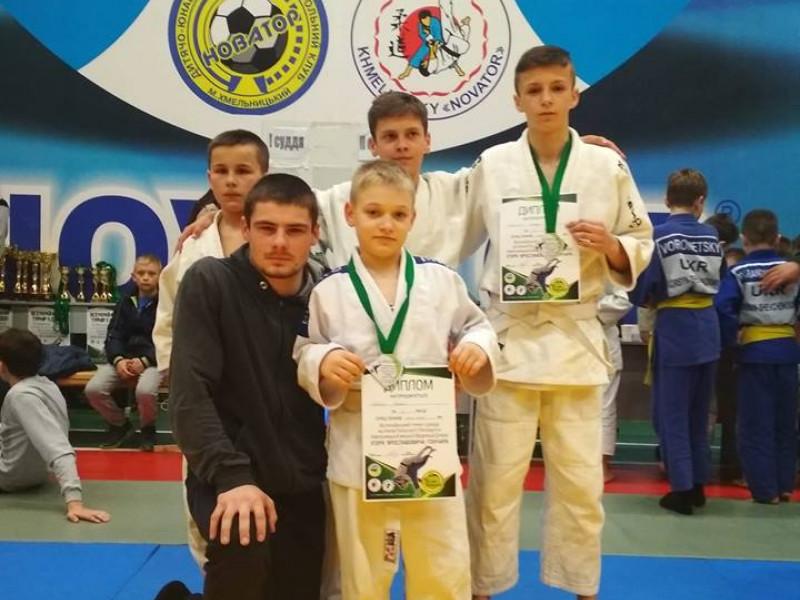 Волинські дзюдоїсти вибороли «срібло» на Всеукраїнському турнірі