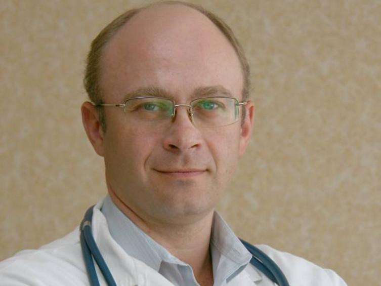 Головний лікар обласної інфекційної лікарні Руслан Морочковський