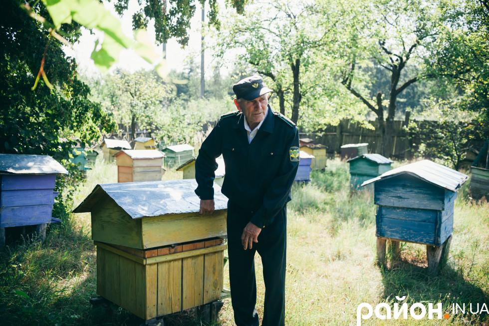 Господар самостійно лікує і годує бджіл