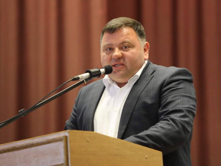 Голова Горохівської районної ради Тарас Щерблюк