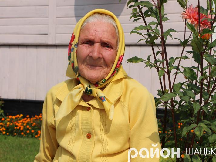 Марії Прищепі з Шацька виповнилося 95 років