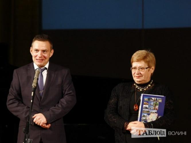 Дмитро Глазунов та Ніна Долінчук