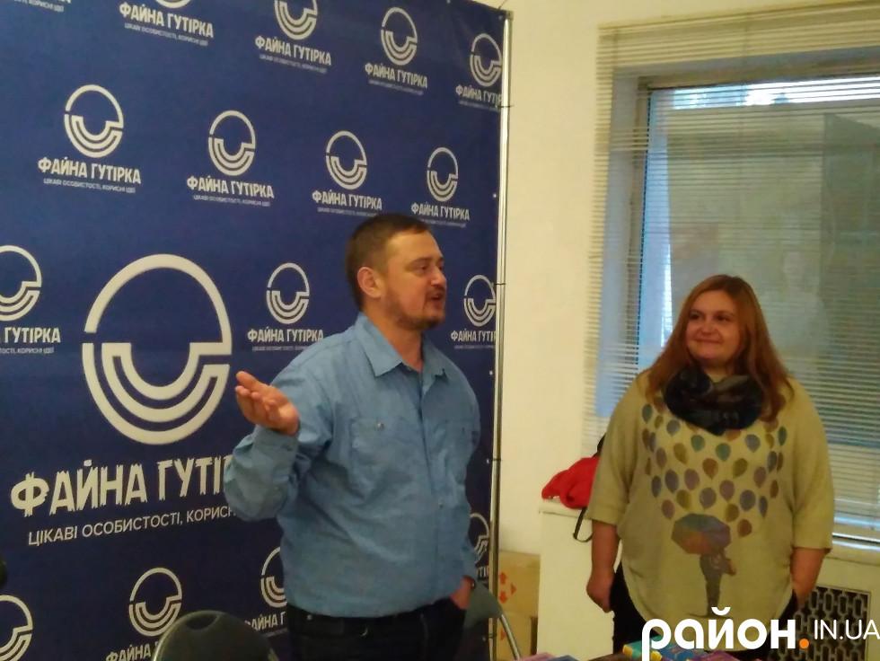 Андрій Кокотюха та Ольга Ляснюк