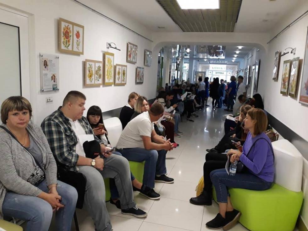 Перший день цьогорічного проекту, огляд пацієнтів