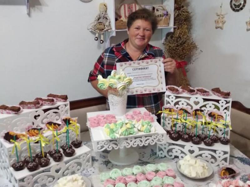 Ірина побувала на курсах, які проводили відомі майстрині України