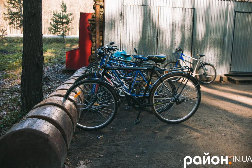 Велосипеди для відвідувачів