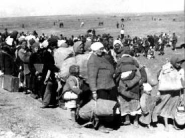 Українців вивозили до Німеччини сім'ями