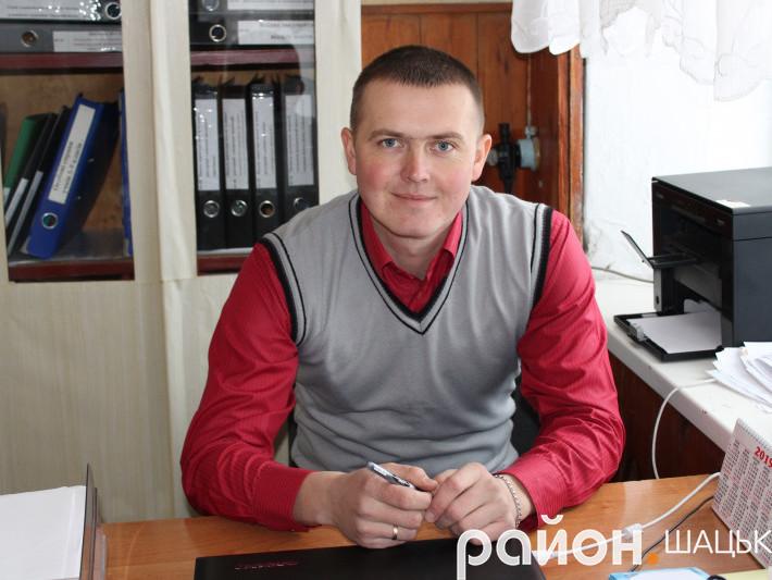 Директор Пулемецької школи Олександр Семенюк