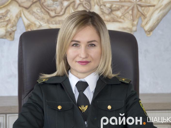 Директорка Шацького НПП Марія Христецька