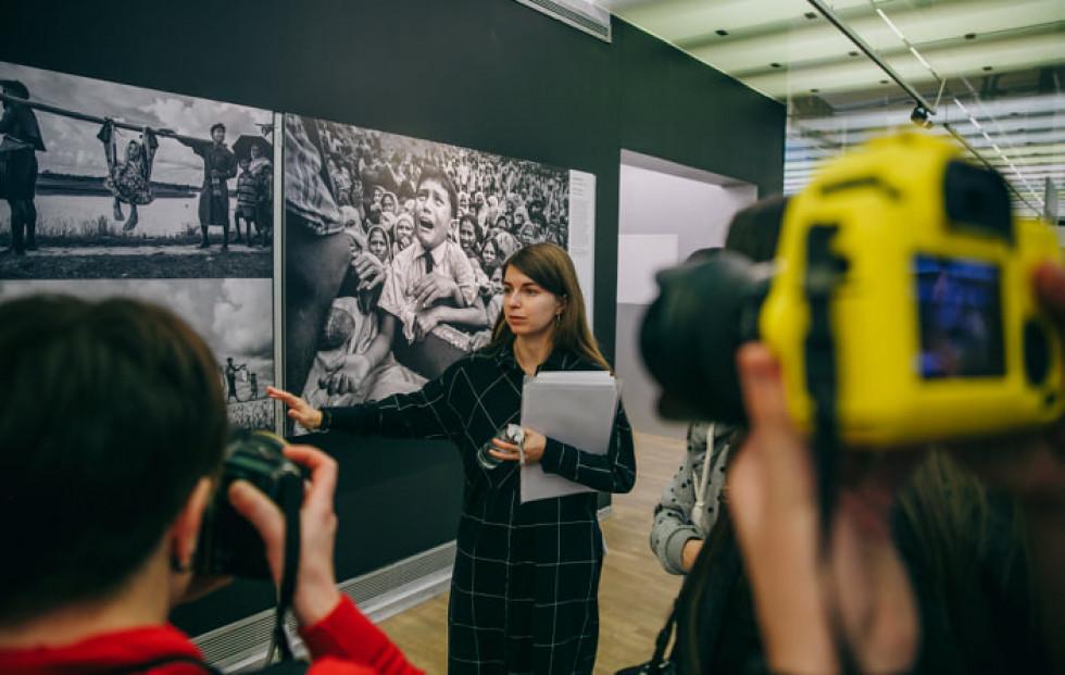 Фото з навчальної поїздки на виставку World Press Photo 2018. Фото: Макс Тарківський