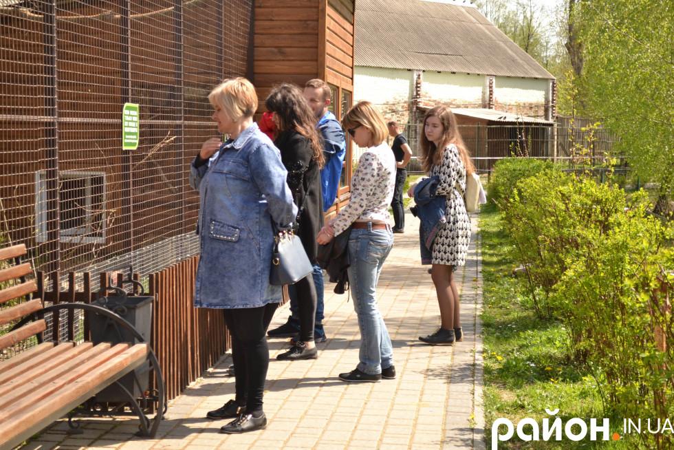 Після реконструкції в зоопарку значно побільшало відвідувачів