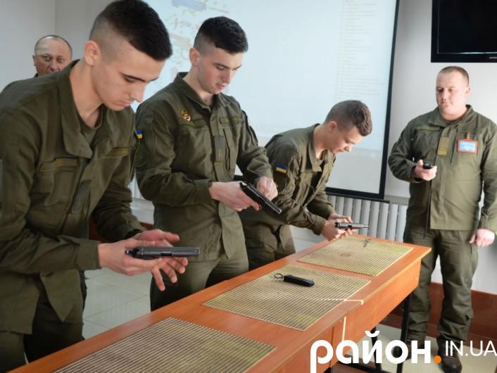 Курсанти Національної Академії Нацгвардії України