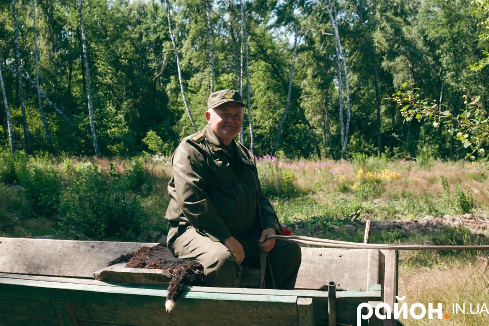 Андрій Олексюк – майстер лісу