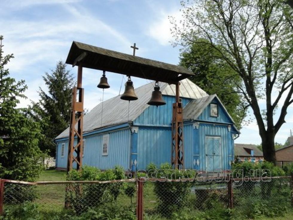 . Церква Св. Параскеви у Затурцях, де служив Омелян Суничук