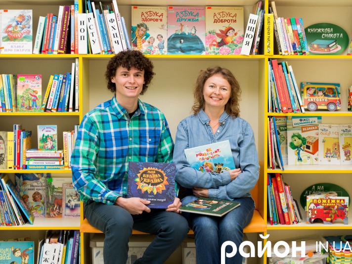 Письменниця Світлана Конощук разом зі своїм сином, актором Євгеном
