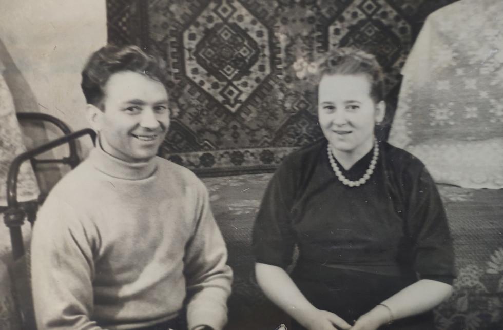 Іван і Ганна Колима 1962 рік