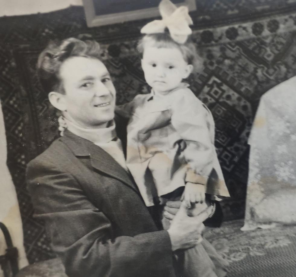 З донькою Колима 1962