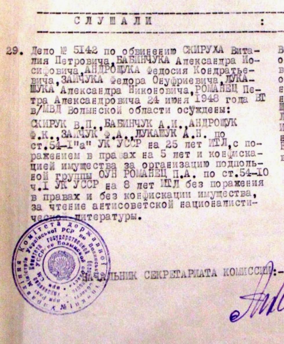 Довідка Олександра Бабінчука