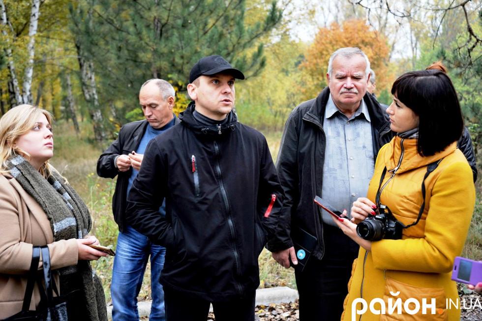 Заступник голови військово-цивільної адміністрації міста Роман Шахов.