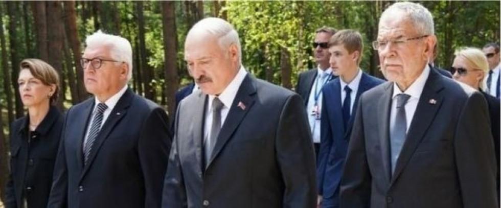 29 червня 2018 р. поблизу Мінська в урочищі Благовщина меморіал «Тростенець» урочисто відкрили три Президенти - Німеччини, Білорусі та Австрії