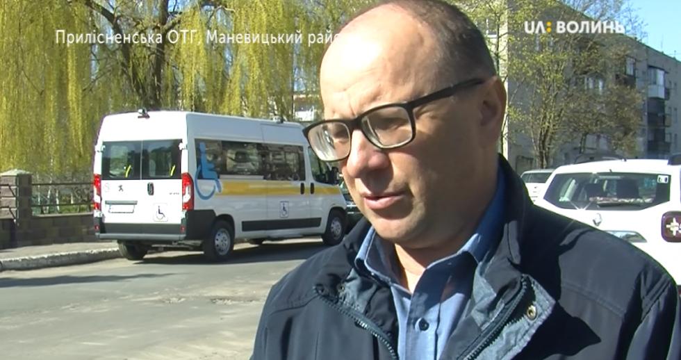Заступник голови Прилісненської ОТГ Олексій Гнатюк