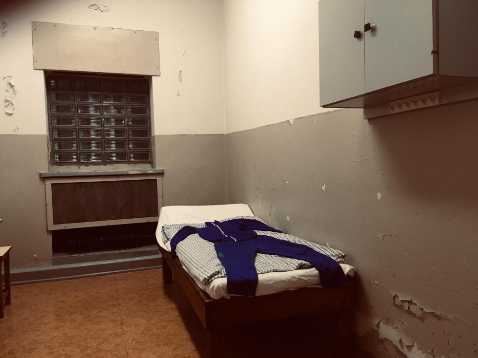 Камера в новому корпусі тюрми Штазі