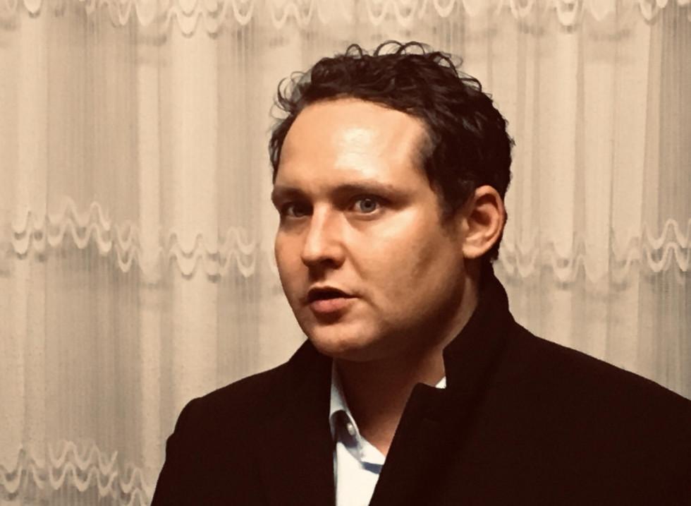 Міхаель Гінзбург, голова відділу комунікації та міжнародних зв'язків музею Штазі