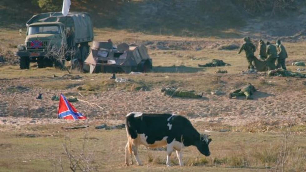 У кінострічці зіграла навіть корова