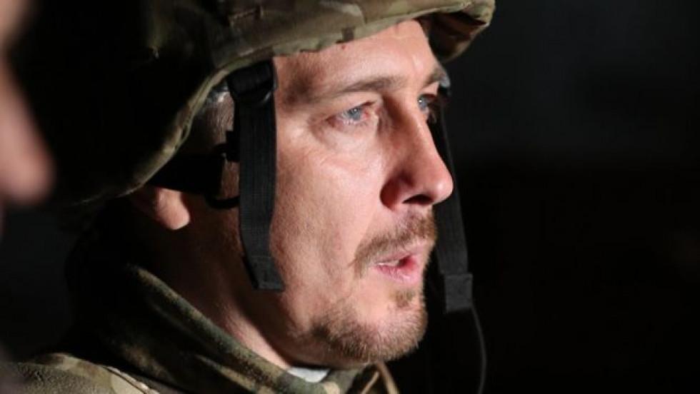 Дмитро Тубольцев знімався у тому ж камуфляжі, в якому воював