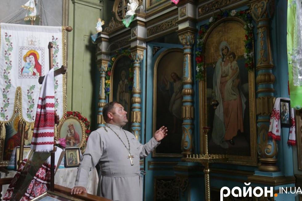 Іван Квік розповідає про Свято-Михайлівську церкву