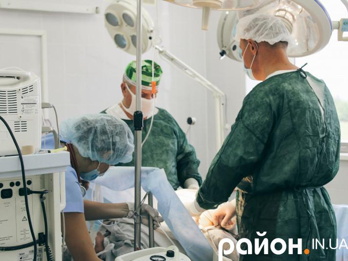В операційному блоці Любомльської лікарні