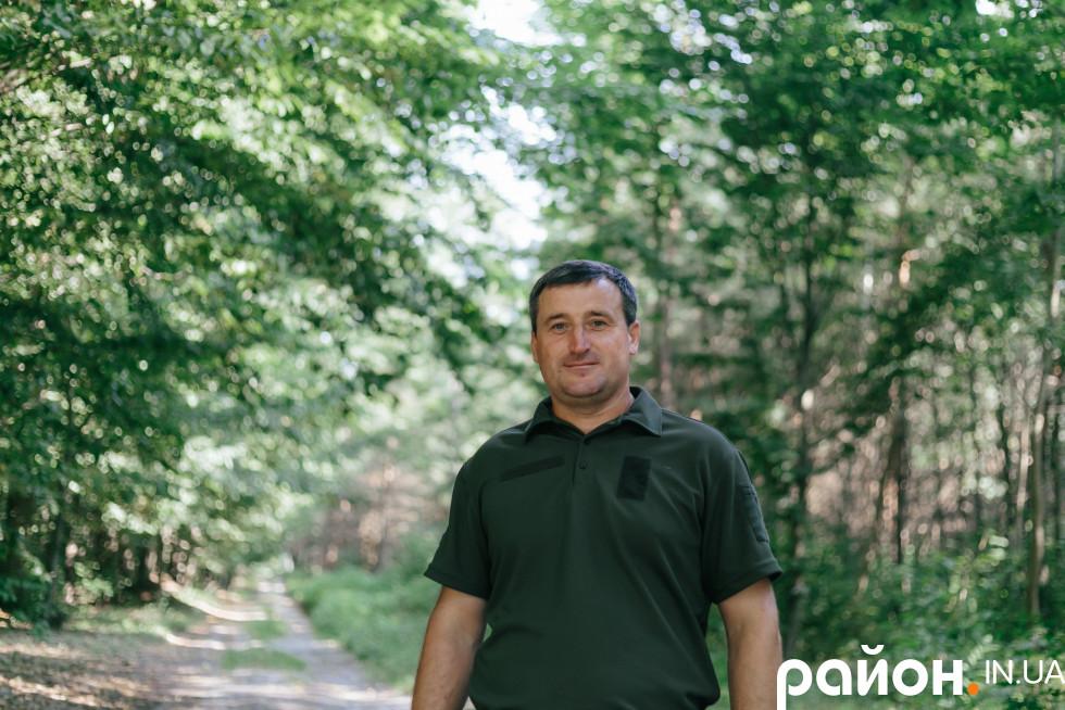 Пов'язати життя з лісом - рішення, яке прийняв ще змалку