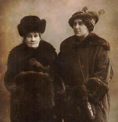 Княгиня Гагаріна з донькою Ольгою. Фото –m.day.kyiv.ua