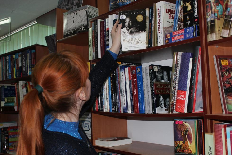 Англомовна література у «Вікні в Америку». Фото Юлії Тарадюк